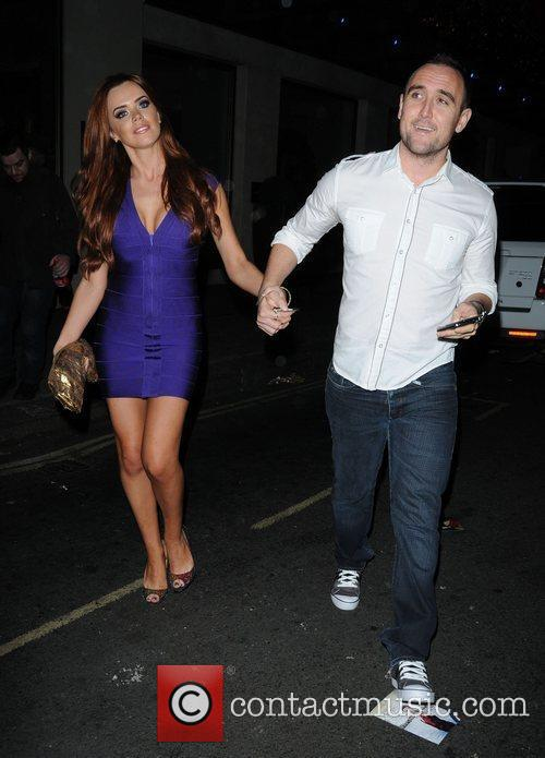 Maria Fowler and her boyfriend leaving The May...