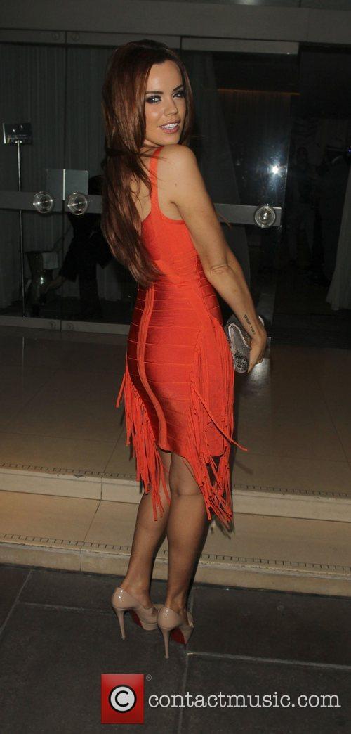 Maria Fowler leaving the Sanderson Hotel  London,...