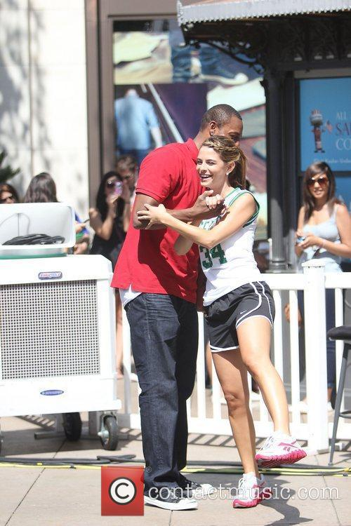 Paul Pierce and Maria Menounos 11