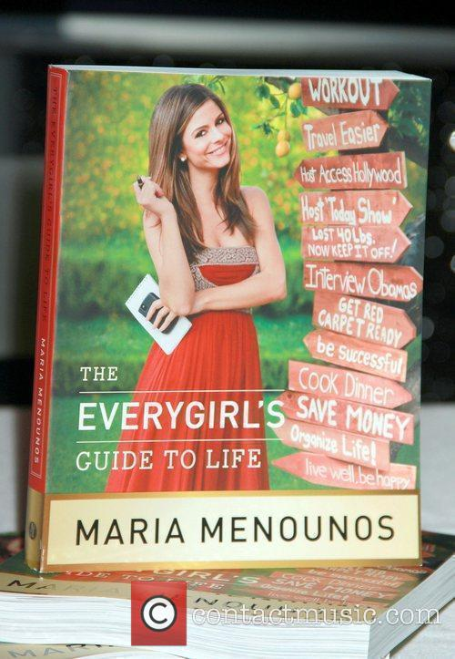 Maria Menounos signing her new book 'The Everygirl's...