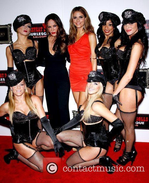 Maria Menounos, Pussycat Dolls, Robin Antin and Planet Hollywood 6