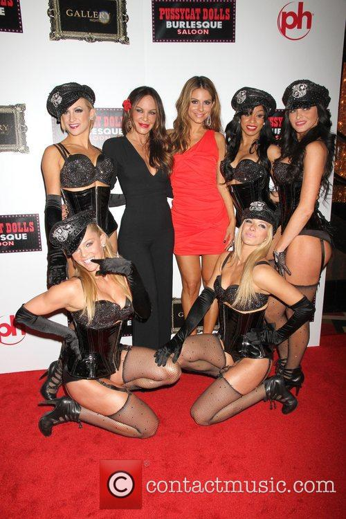 Maria Menounos, Pussycat Dolls, Robin Antin and Planet Hollywood 2