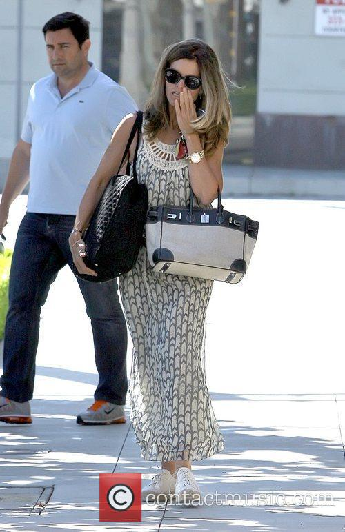 Shopping on Melrose Place in West Hollywood with...