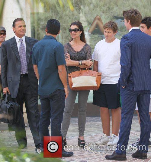 Mario Lopez, Maria Shriver and Patrick Schwarzenegger 8