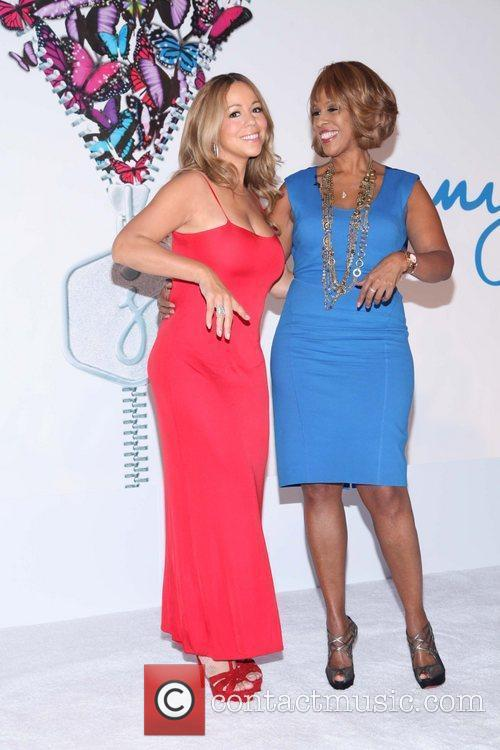 Mariah Carey and Gayle King 6