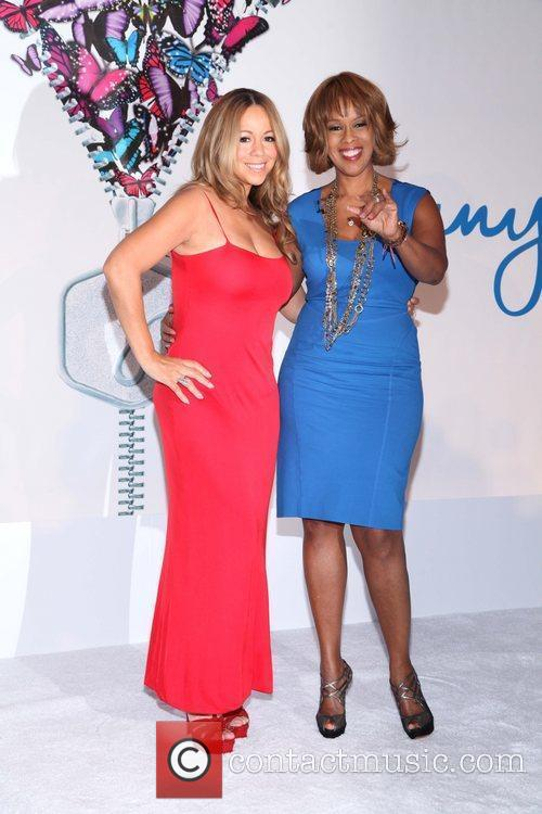 Mariah Carey and Gayle King 5