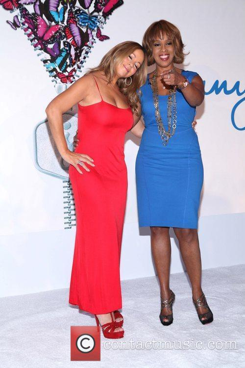 Mariah Carey and Gayle King 9