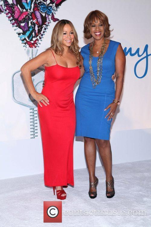 Mariah Carey and Gayle King 11