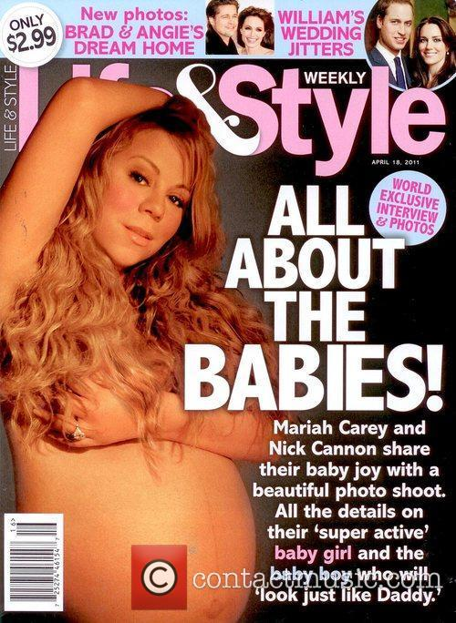 A nude photo of Mariah Carey who is.