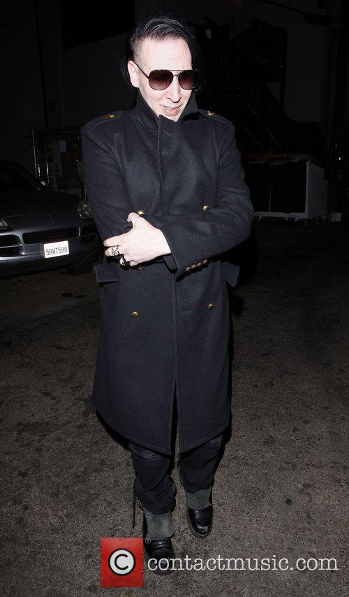 marilyn manson leaves mercato di vetro restaurant 3575267