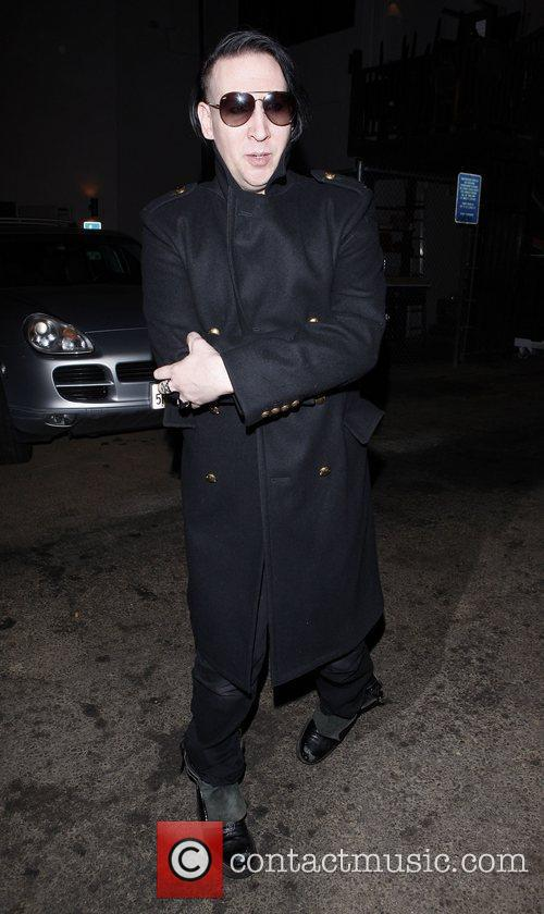 marilyn manson leaves mercato di vetro restaurant 3575279