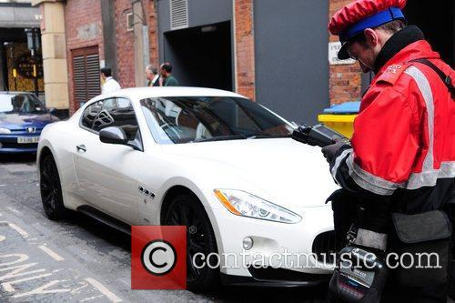 Mario Balotelli's car gets another parking ticket. Mario...