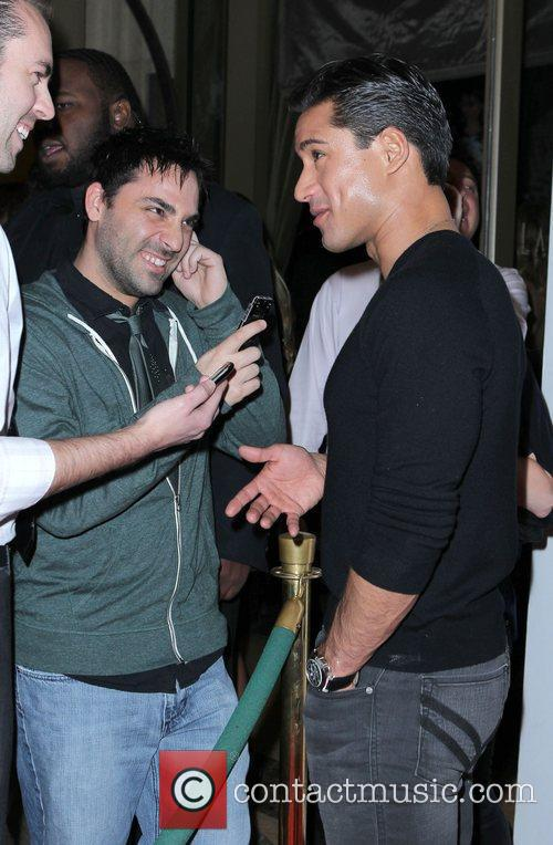 Mario Lopez hosts a night at Lavo nightclub...