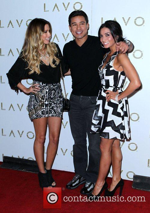 Mario Lopez hosts a night at Lavo nightclub...
