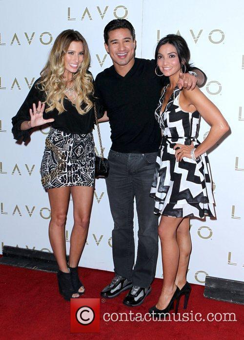Renee Bargh, Mario Lopez and Courtney Mazza Mario...