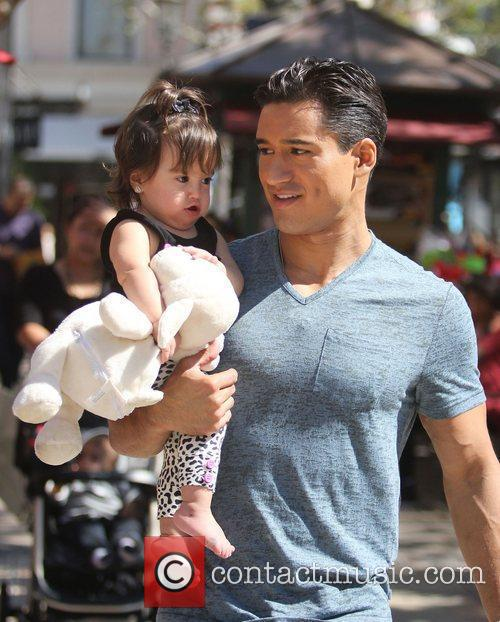 Mario Lopez out and about with daughter Gia...