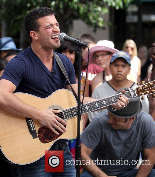 Mark Ballas performing live at The Grove for...