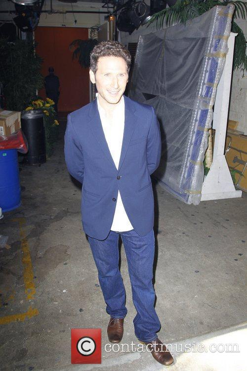 'Royal Pains' actor Mark Feuerstein is spotted outside...