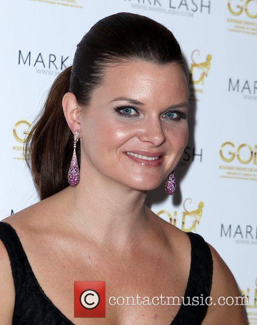 Heather Tom Mark Lash Jewelry Showcase 2011 at...