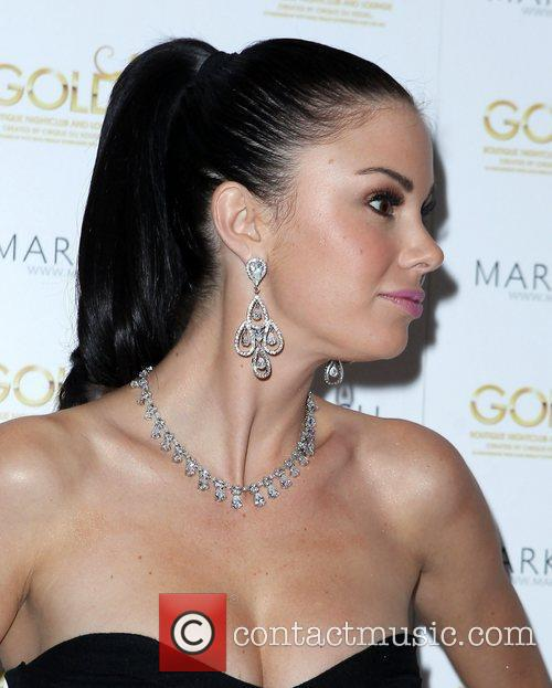 Jayde Nicole Mark Lash Jewelry Showcase 2011 at...