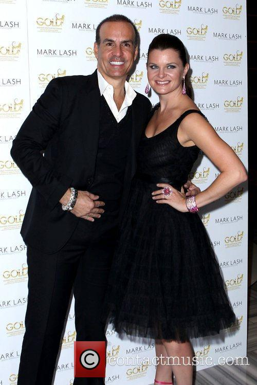 Mark Lash and Heather Tom Mark Lash Jewelry...