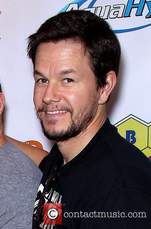 Mark Wahlberg hosts a private Mayweather Ortiz viewing...