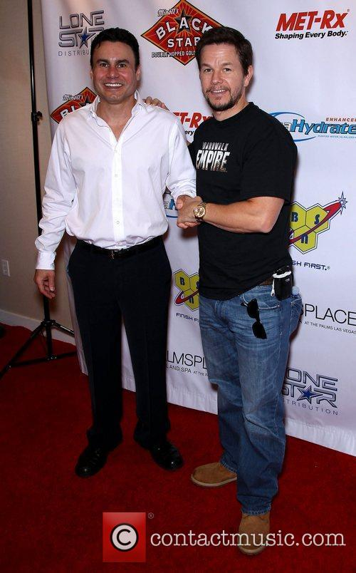 Phil Maloof and Mark Wahlberg Mark Wahlberg hosts...