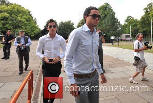 Jack Tweed and his brother Lewis Tweed appear...