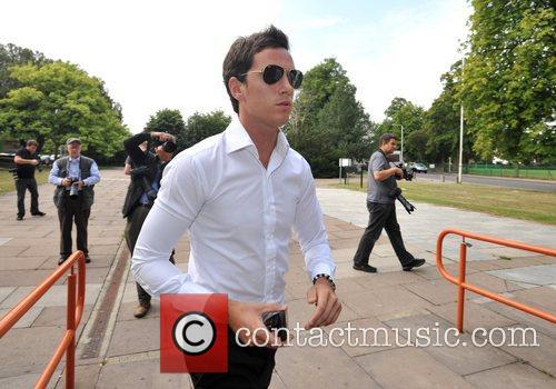 Lewis Tweed appears at Redbridge Magistrates Court charged...