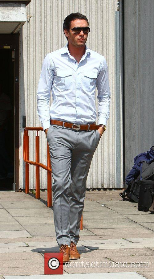 Jack Tweed   leaving Redbridge Magistrates Court...