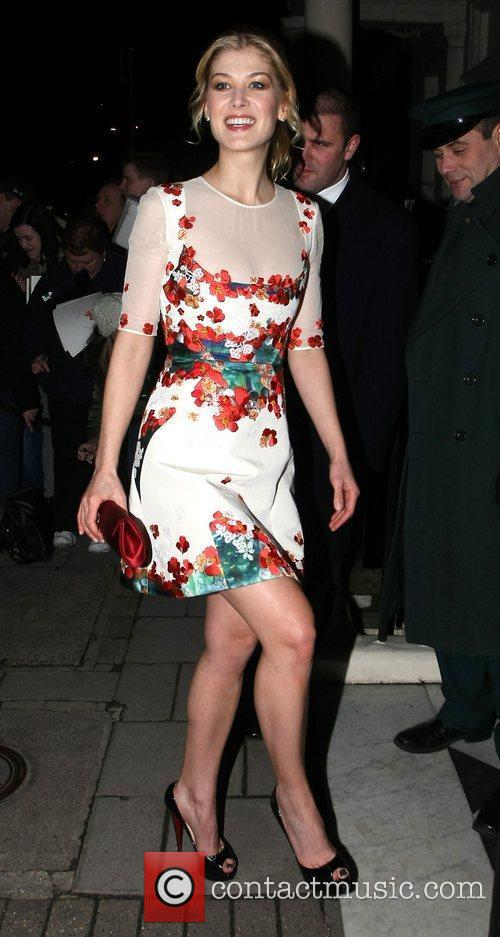 Arrives at Mark's Club in Mayfair to attend...