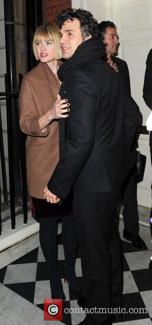 Mark Ruffalo leaves Mark's Club in Mayfair after...