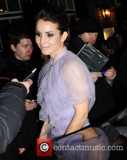 Noomi Rapace leaves Mark's Club in Mayfair after...