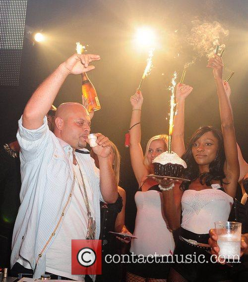Marlon Wayans celebrates his 39th birthday at Mansion...