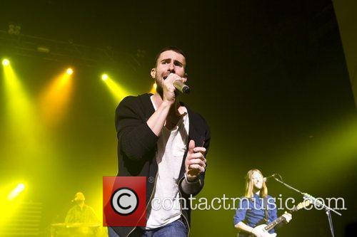 Maroon 5 performing live at Brixton Academy