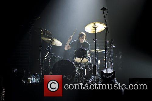 Maroon 5 performing live at Brixton Academy