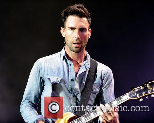 Adam Levine  Maroon 5 performs live at...