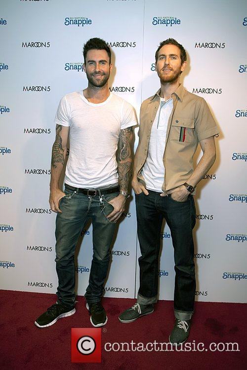 Snapple and Maroon 5 launch the new Snapple...
