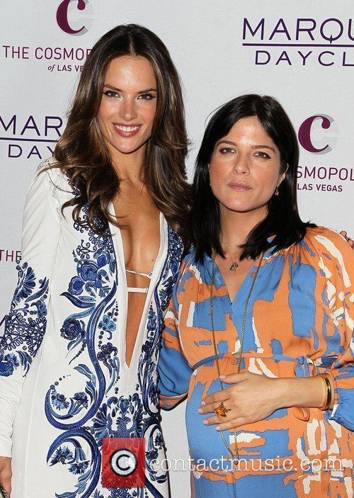 Alessandra Ambrosio and Selma Blair 10