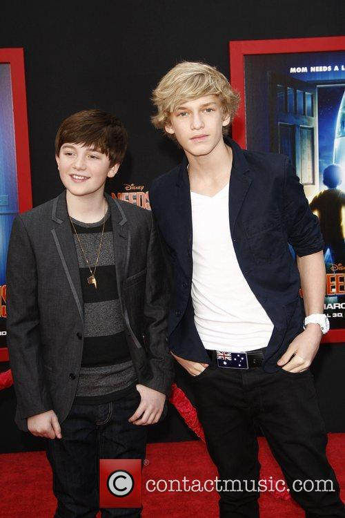 Cody Simpson and Greyson Chance at the Los...