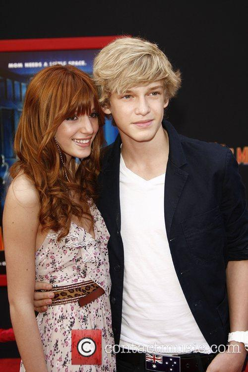 Cody Simpson and Bella Thorne at the Los...
