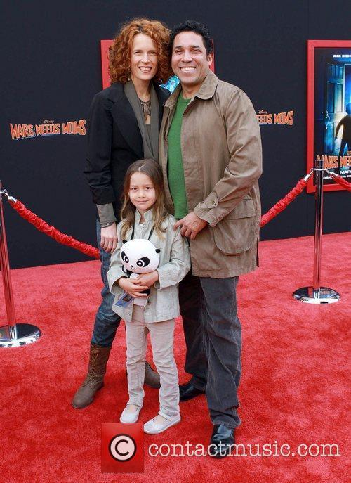 At the Los Angeles premiere of 'Mars Needs...