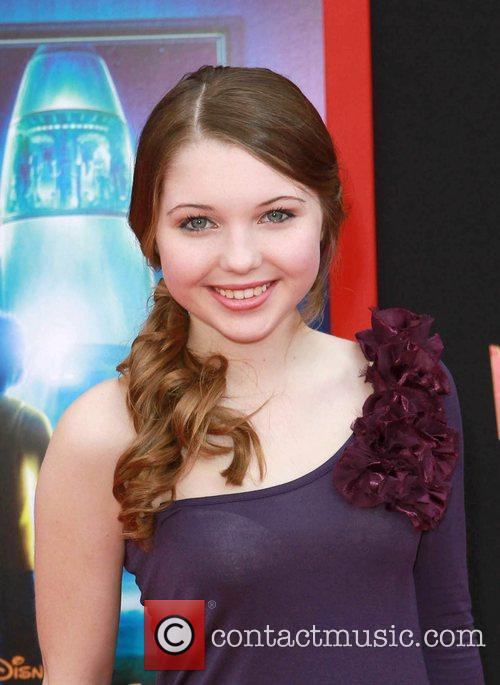 Sammi Hanratty at the Los Angeles premiere of...