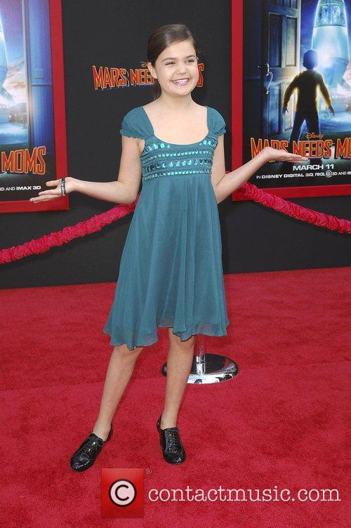 Bailee Madison,  at the Los Angeles premiere...