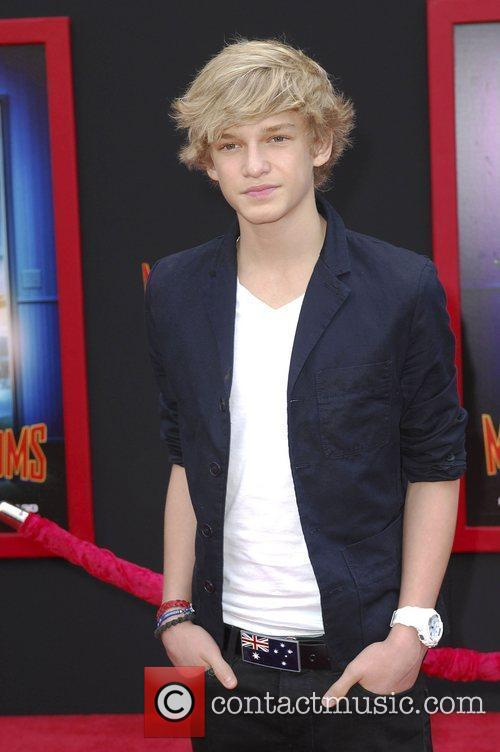 Cody Simpson,  at the Los Angeles premiere...