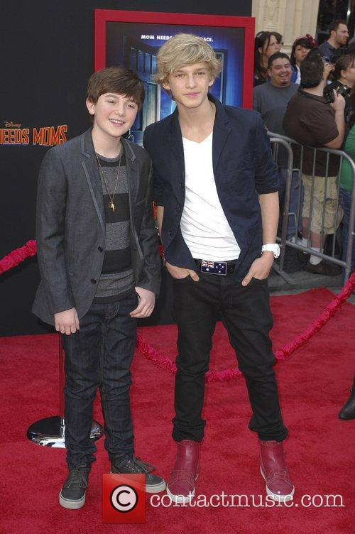 Greyson Chance, Cody Simpson,  at the Los...