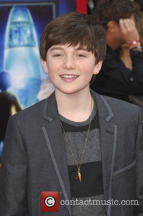 Grayson Chance,  at the Los Angeles premiere...