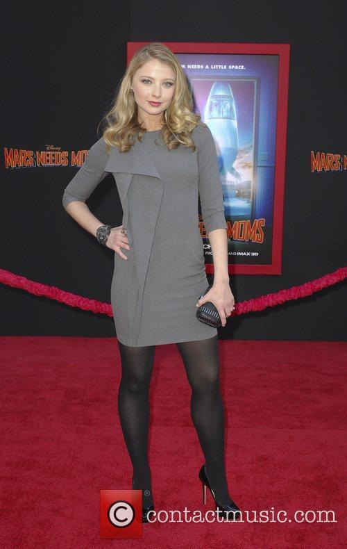 Elizabeth Harnois,  at the Los Angeles premiere...
