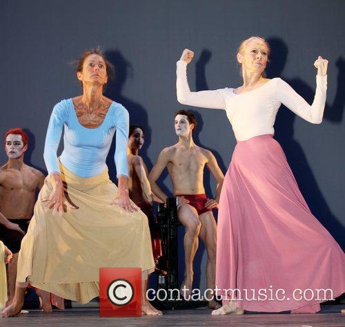 Preview performance for the Martha Graham Dance Company's...
