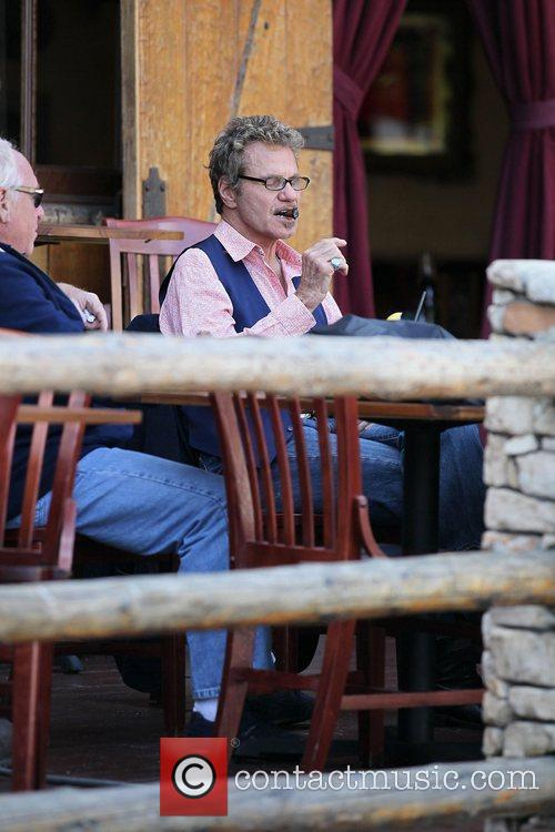Martin Kove at lunch at The Saddleback Ranch...
